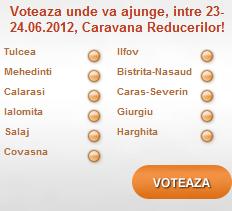 Voteaza Caravana Reducerilor - Refu.ro