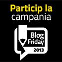 Printre Bloguri TV: Castigatorii a 10 campanii Blog Friday 2013 si programul Galei Blog Friday 2013