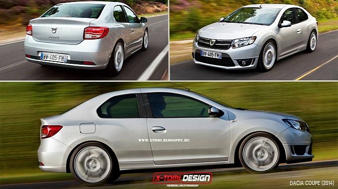 Dacia va lansa un Logan Coupe?