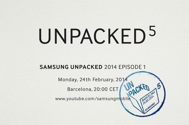 Samsung organizeaza un eveniment Unpacked la Mobile World Congress 2014!