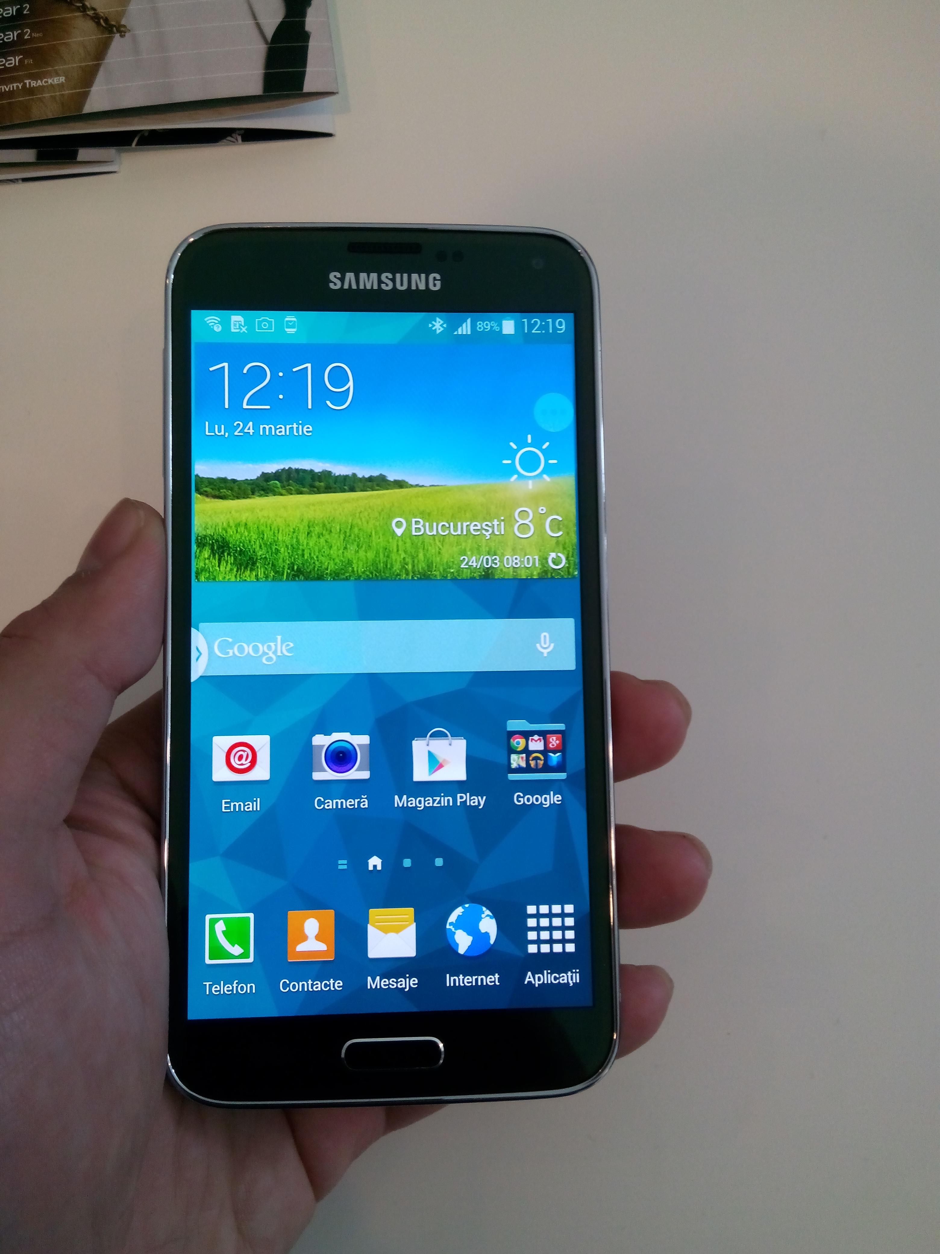 Samsung Galaxy S5: Hands-on