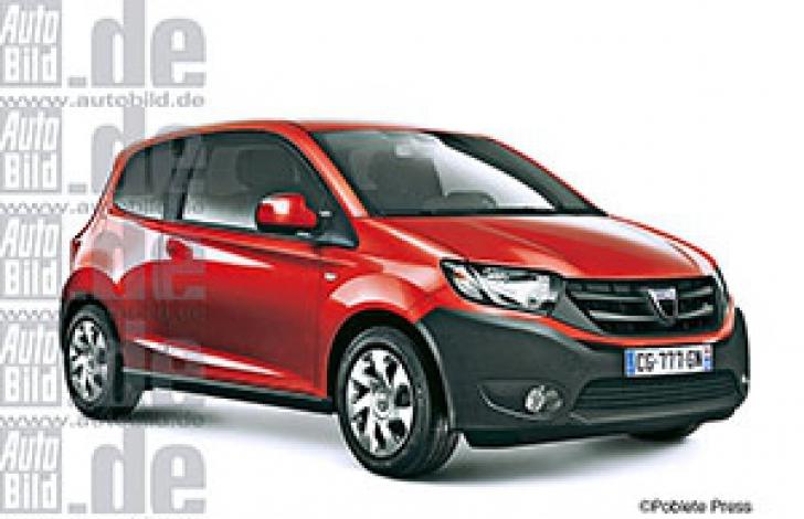 Dacia mini ar putea fi numele noii masini de oras a producatorului din Romania