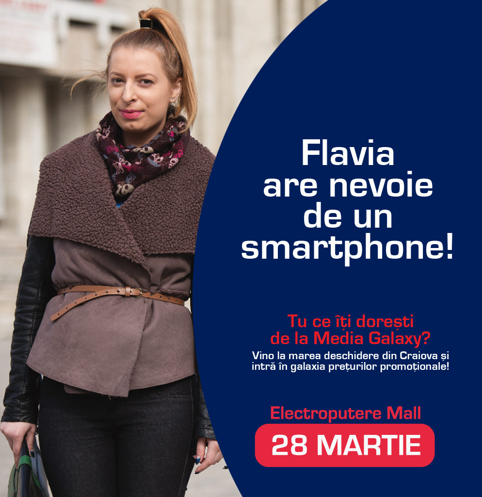 Ce vor putea sa-si cumpere craiovenii pe 28 Martie de la Media Galaxy Craiova