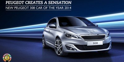 "Peugeot 308 castiga titlul ""Car of the Year"" 2014"