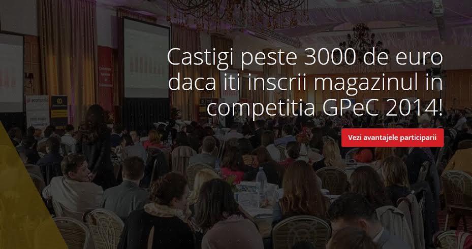 GPeC 2014, competitia la care trebuie sa se inscrie orice magazin online