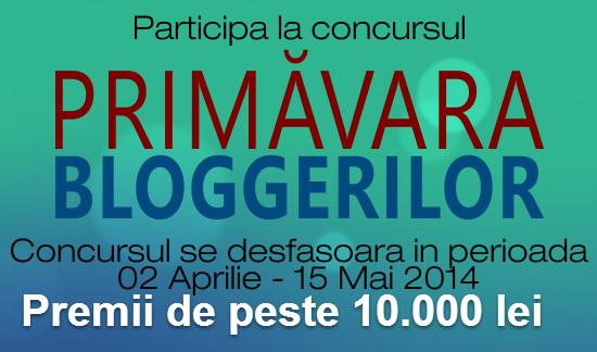 Printre Bloguri TV: Totul despre concursul Primavara Bloggerilor 2014
