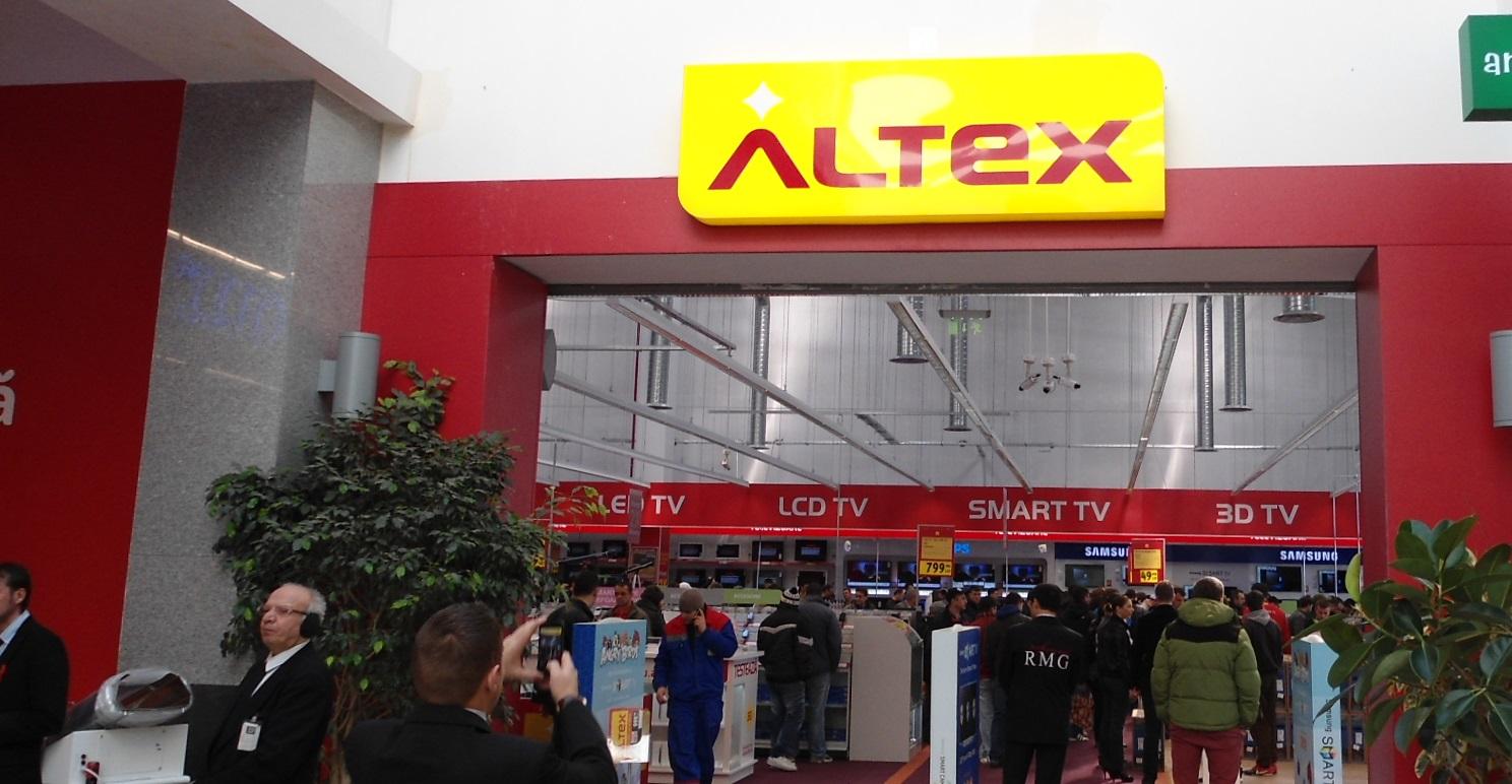 ALTEX vizeaza vanzari de 5 milioane euro de Spring Black Friday