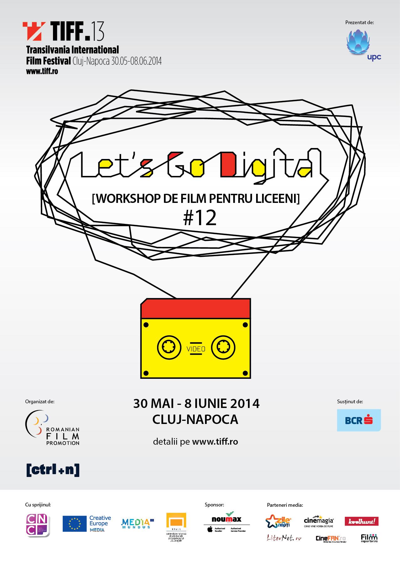 Incep inscrierile pentru o noua editie a atelierului Let's Go Digital!