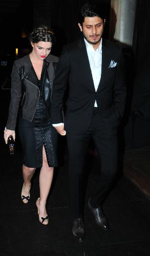 Pelin Karahan with Husband Bedri Güntas