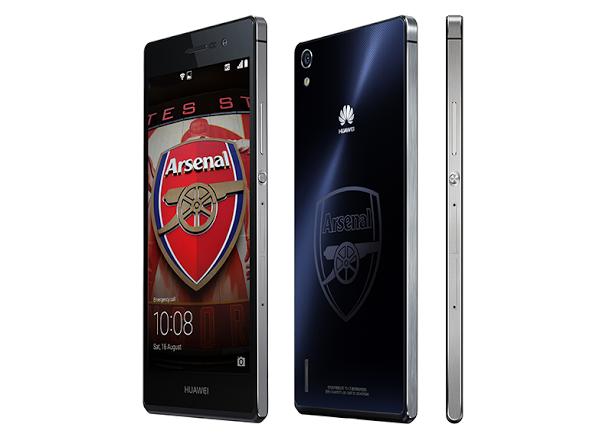 Huawei anunță lansarea ediției Huawei Ascend P7 Arsenal