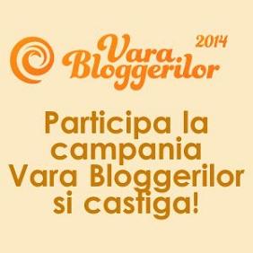 Participa la campania Vara Bloggerilor pana pe 24 August si castiga premii fabuloase, in valoare de peste 15000 lei!