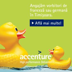 Recomandare: Accenture cauta colegi pentru biroul din Timisoara