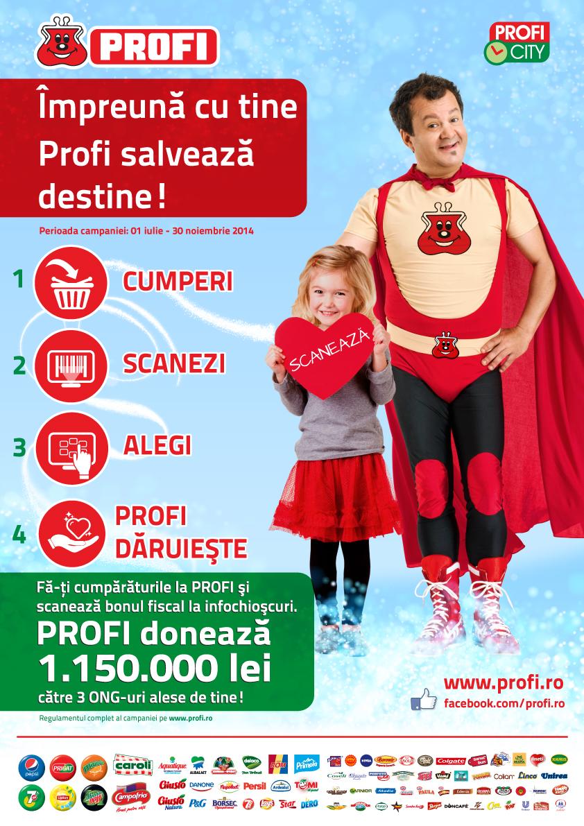 """Premiul PROFI """"Te implici si castigi"""" isi asteapta castigatorul"""
