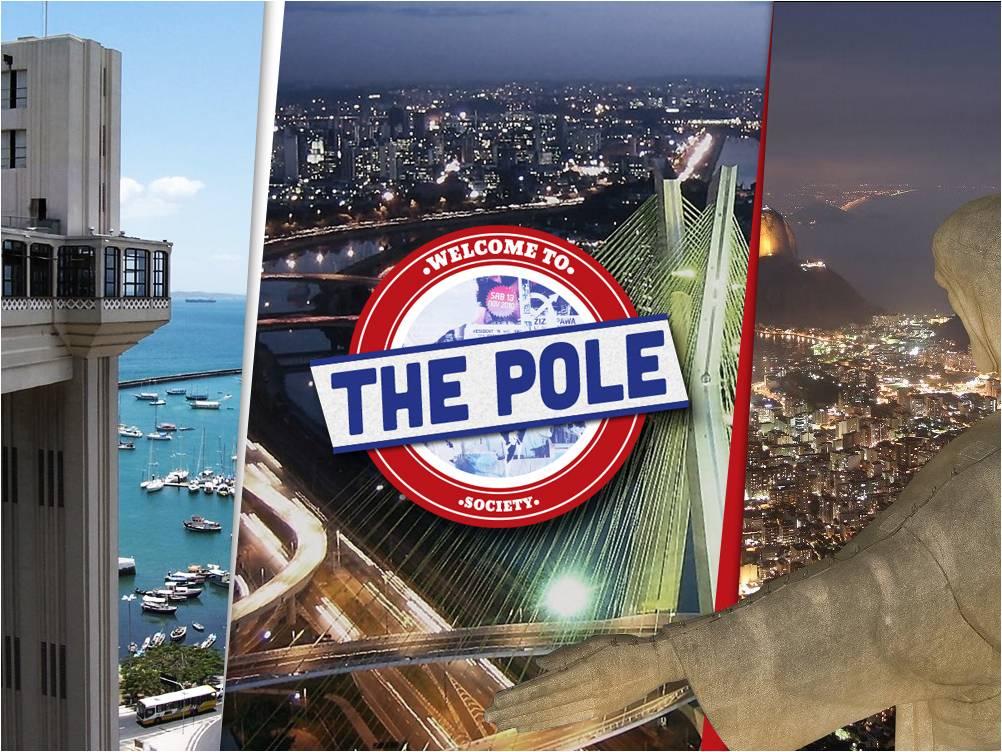 Startup-ul românesc The Pole Society extinde în Brazilia prima soluție din lume pentru advertising de pe mobil pe ecranele digitale outdoor!