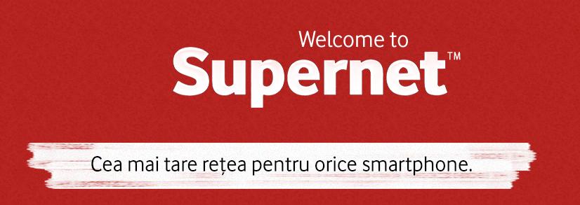 Vodafone Romania anunta Supernet (P)