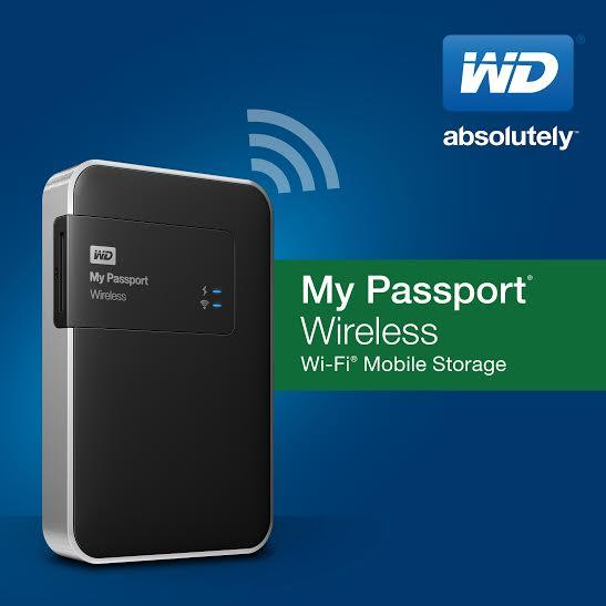 Noua solutie de stocare WD se conecteaza wireless la smartphone, tableta, aparat foto si alte echipamente