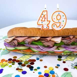 SUBWAY® aniversează 49 de ani de succes mondial