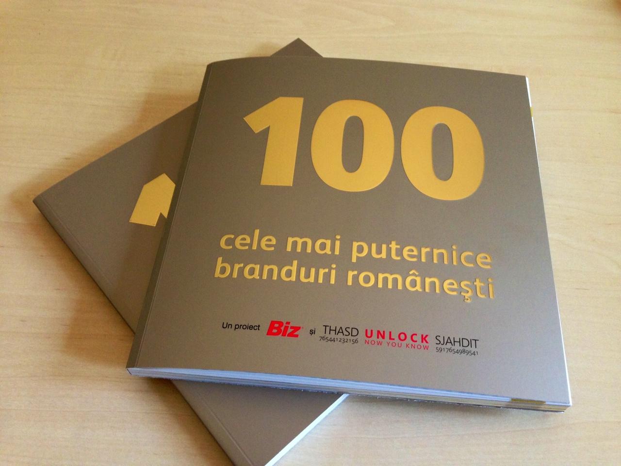 Top 100 cele mai puternice branduri romanesti