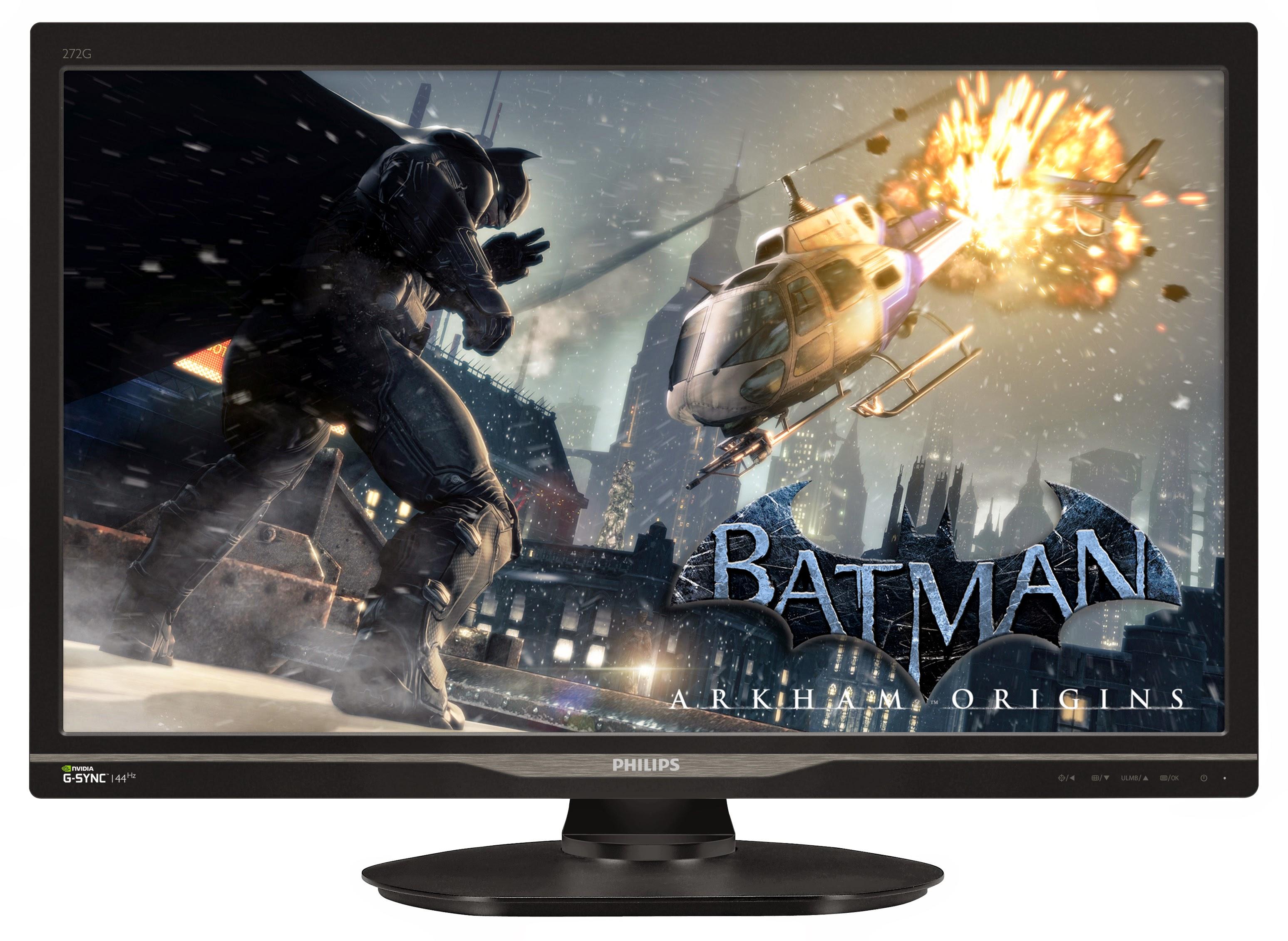 Gaming rapid şi precis cu noul monitor Philips NVIDIA G-SYNC