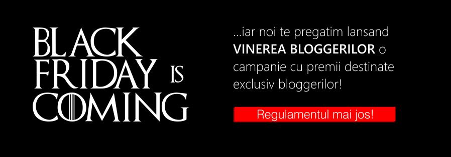Vinerea Bloggerilor – video-tutorial: participa pana pe 28 Noiembrie la campanii si castiga!