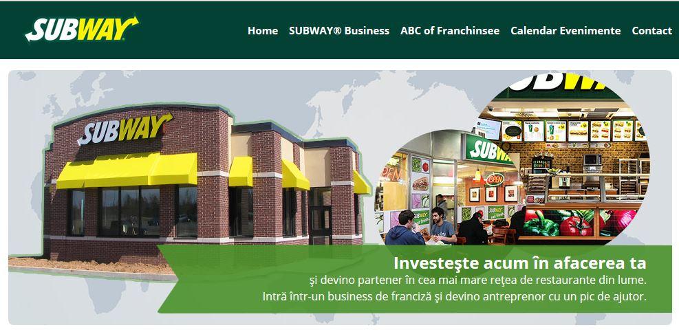 SUBWAY® lansează o platformă de business pentru toți antreprenorii interesați de o afacere de franciză