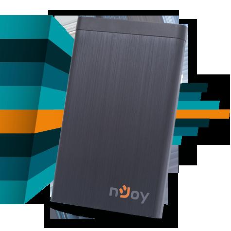 nJoy SpeedBOX – rack mobil de 2.5″