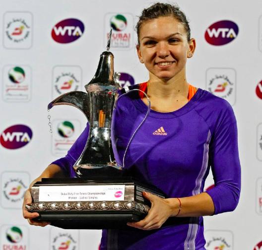 Simona Halep a invins-o pe Karolina Pliskova in finala de la Dubai!