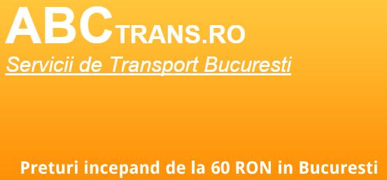 Recomandarea zilei: ABCTrans.ro – firma care ofera servicii de transport mobila in toata tara