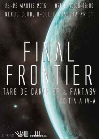 Un weekend cu nori: soluții de la Final Frontier, târg de carte SF & Fantasy