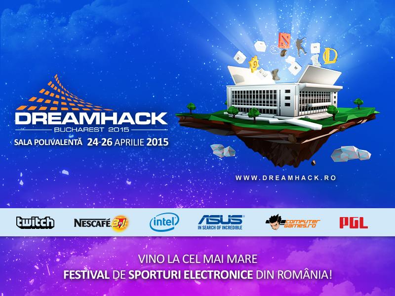 10 motive să nu ratezi DreamHack Bucharest 2015