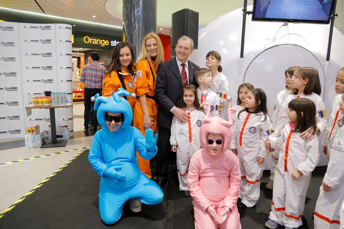 La mall Promenada, Kids on the Moon a stâns peste 550 de copii
