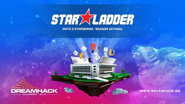 Finala turneului Dota2 StarLadder StarSeries XII se va desfășura DreamHack Bucharest 2015