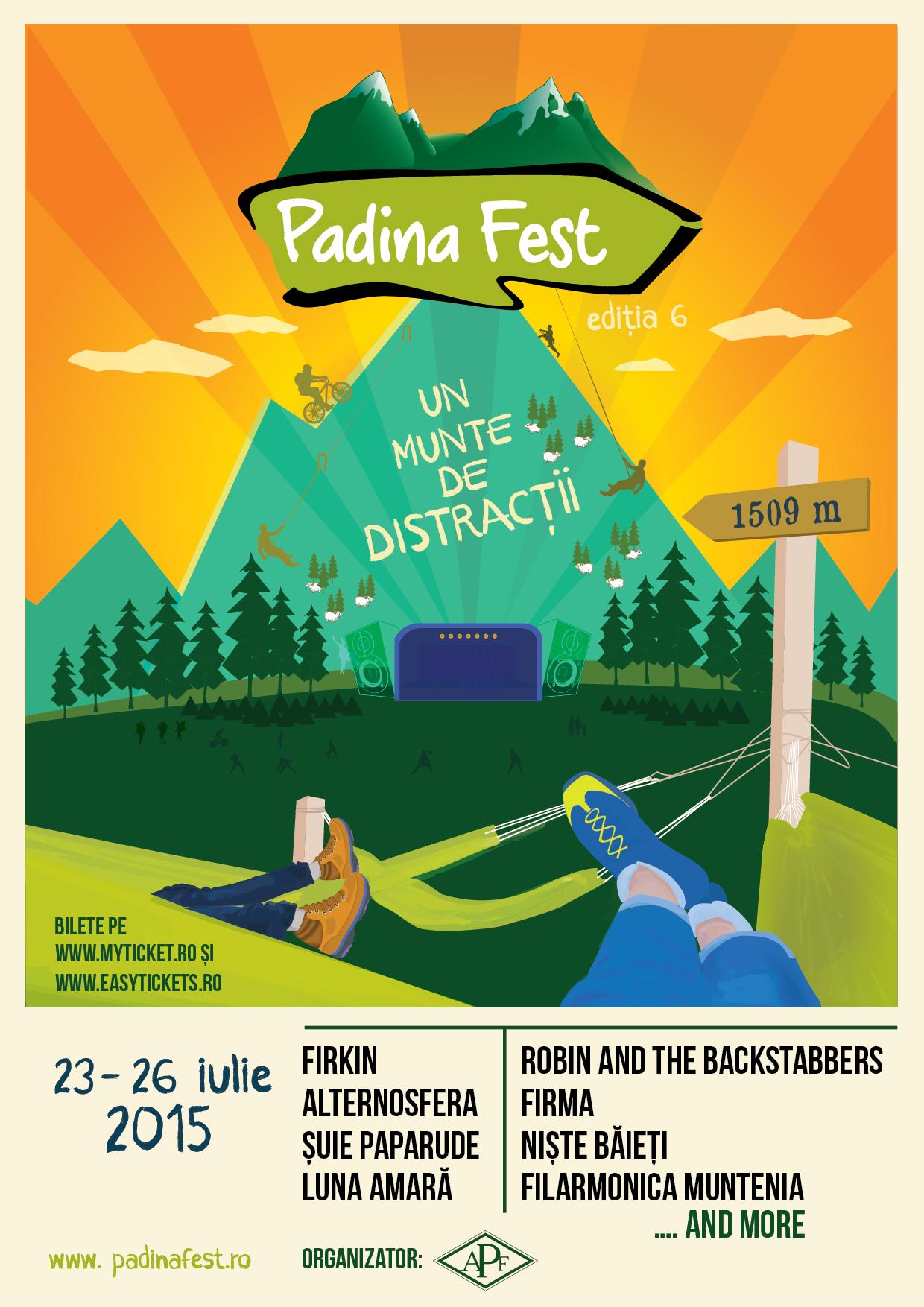 PADINA FEST 2015, un munte de distracţii la cea mai mare altitudine