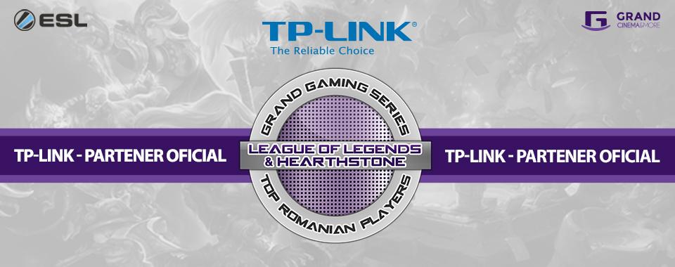 TP-LINK România, ESL România și Grand Cinema & More dau startul Grand Gaming Series, o competiţie cu premii totale de peste 11.000 de euro