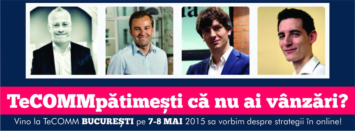 TeCOMM București 2015: Știi ce gândesc clienții tăi? Trucuri psihologice despre cum să vinzi mai mult online