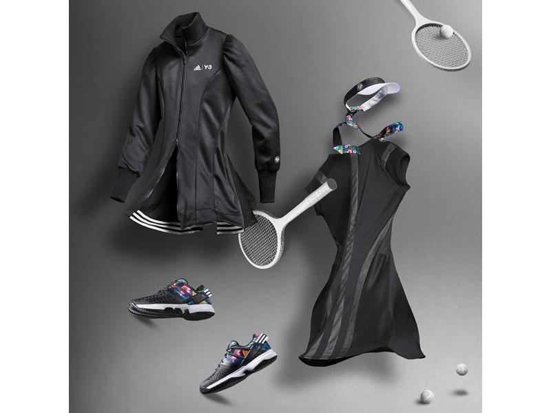 COLECȚIA adidas ROLAND GARROS semnată Y-3 schimbă regulile jocului la Roland Garros 2015