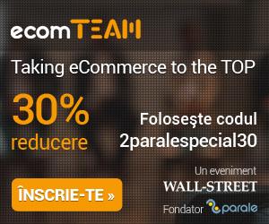 30% reducere pentru magazinele online la ecomTEAM si 7 motive pentru a fi prezent la ecomTEAM 2015