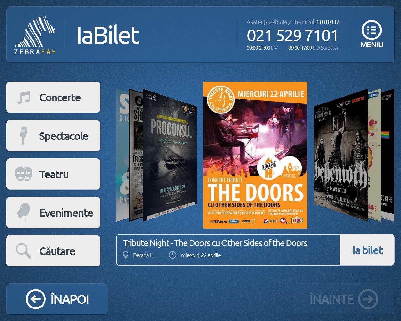 IaBilet.ro și ZebraPay lansează prima soluție de vânzare self-service a biletelor la evenimente din România