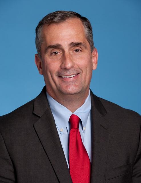 Intel a obținut în primul trimestru al anului un venit de  12,8 miliarde de dolari, în linie cu estimările companiei