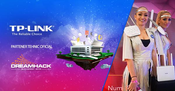 TP-LINK lansează cel mai nou router mobil cu suport 4G, M7350, în cadrul  DreamHack Bucharest 2015