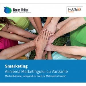 """Beans United organizează seminarul """"Alinierea Marketingului cu Vânzările sau Smarketing""""  """""""