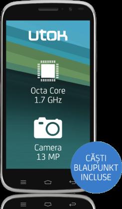 Unboxing UTOK Fury – smartphone Octa-Core accesibil