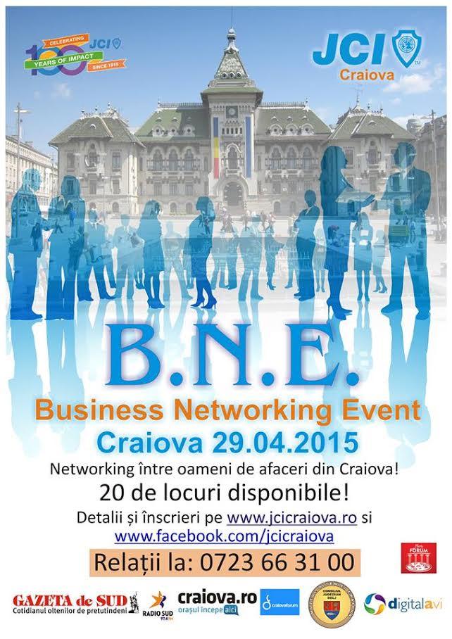 JCI Craiova organizeaza pe 29 aprilie 2015 Business Networking Event, la Muzeul Olteniei.