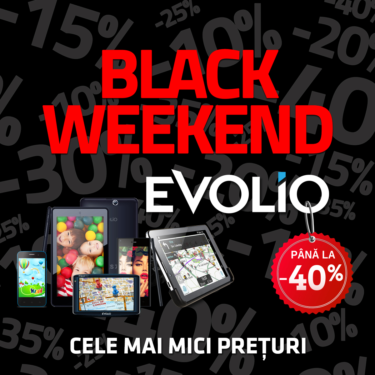 Weekend-ul acesta, Black is back, doar la Evolio