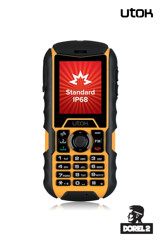 Primul feature phone UTOK este  modelul rugged Dorel 2