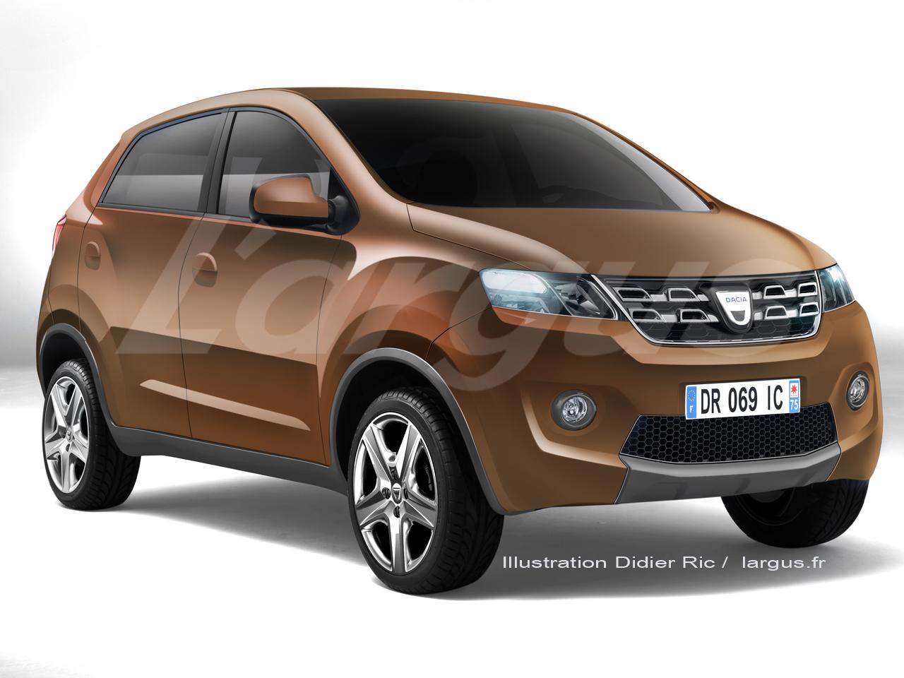 Primele poze si informatii cu noul model Dacia City