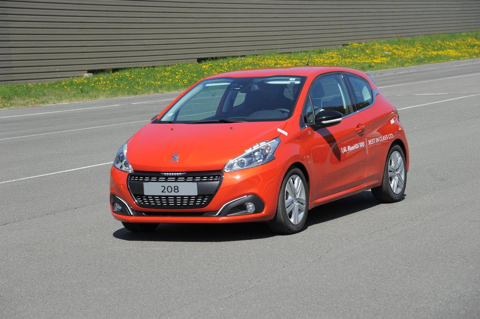 Peugeot 208 BlueHDI reuseste un consum de 2.0 litri/100 km