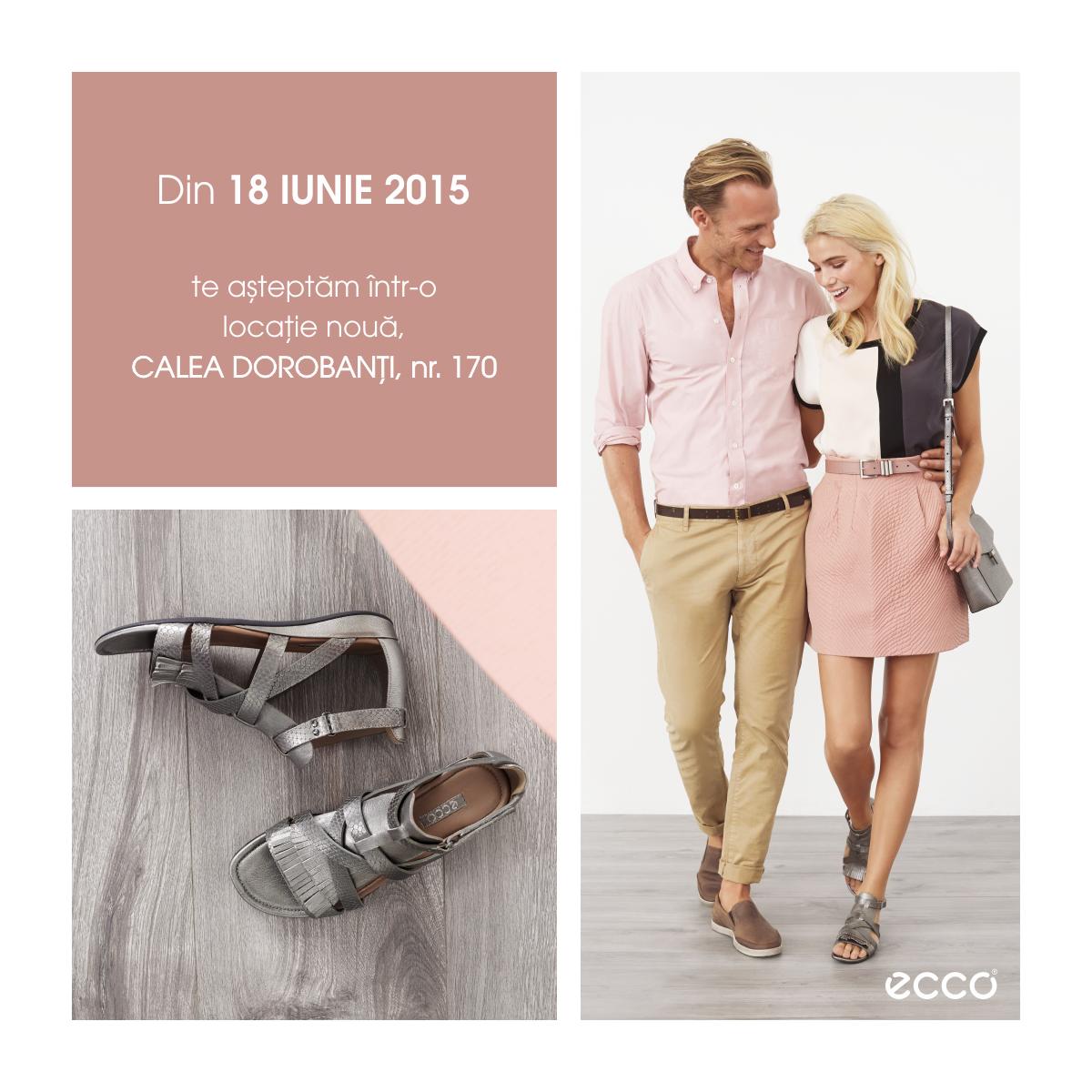 ECCO Shoes deschide pe 18 Iunie un nou magazin in Dorobanti si ofera un discount cu avioane de hartie