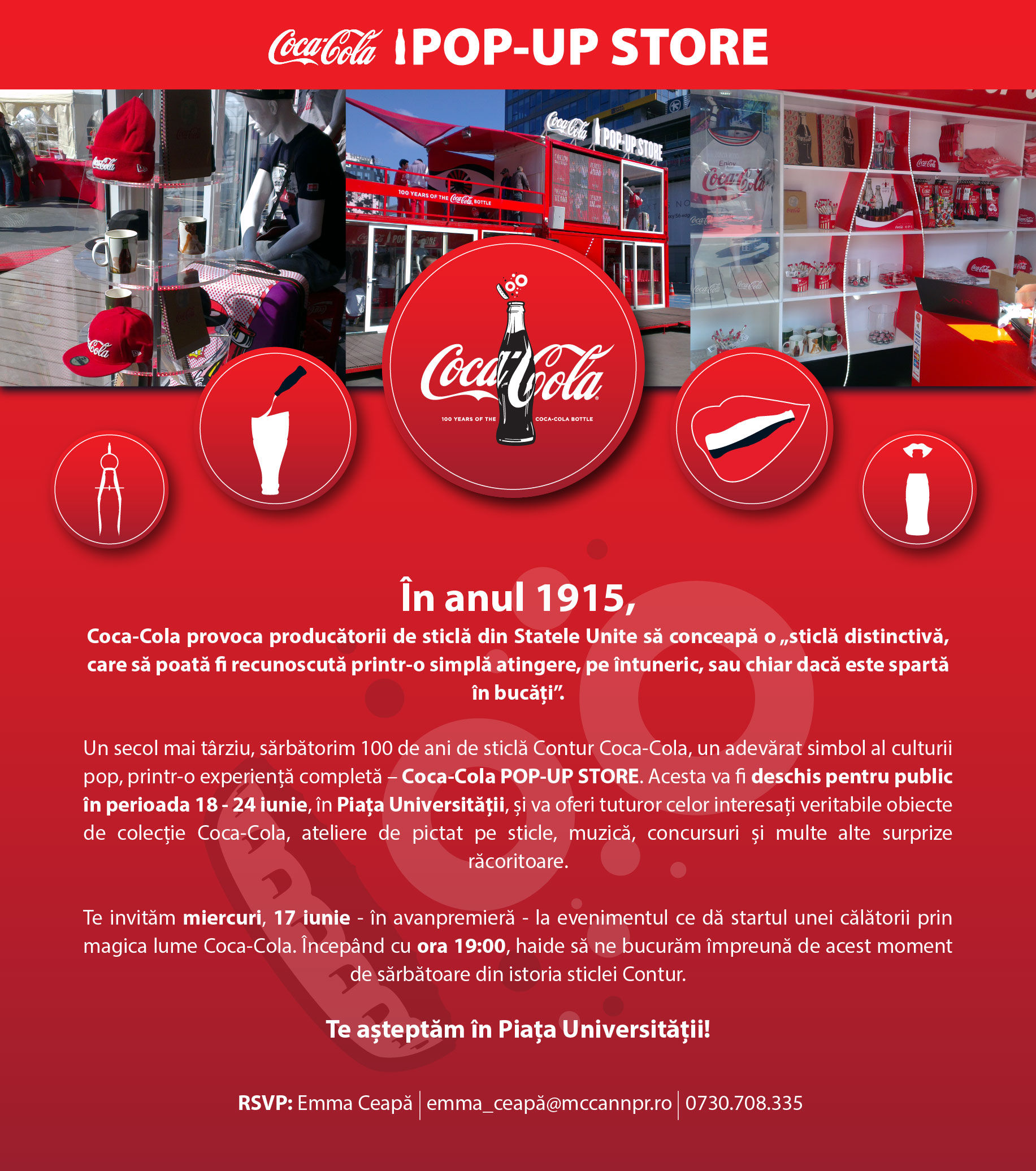 Coca-Cola POP-UP STORE