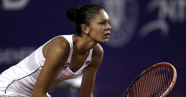 Andreea Mitu s-a calificat in sferturile de finala la BRD Bucharest Open